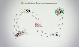 Copy of Oportunidades no Departamento de Anatomia
