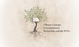 Climate Change, Environmental Protection and the WTO