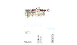 Tractament de la informació i competència digital