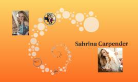 Sabrina Carpender