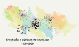 Educación y revolución MEXICANA 1910-1920