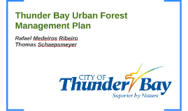 Thunder Bay Urban Forest