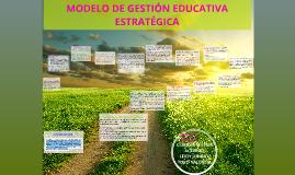 Copy of MODELO DE GESTIÓN EDUCATIVA ESTRATEGICA