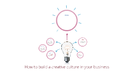 How to build a creative culture in your business