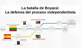 La batalla de Boyacá: