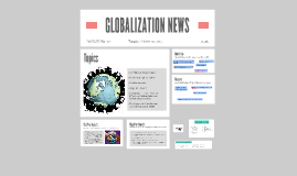 GLOBALIZATION NEWS