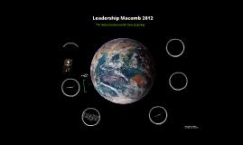 Leadership Macomb 2012