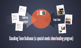 Team Radiance (a special needs cheerleading program)