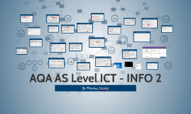 AQA AS Level ICT - INFO 2