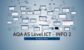 AQA AS Level ICT - INFO 2
