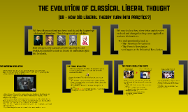 The Evolution of Classical Liberal Thought