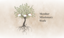 Member Missionary