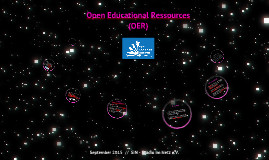 OER - Open Educational Ressources