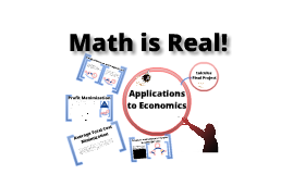 Copy of Calculus Applications to Economics