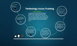 Issues of Technology Integration (K-12)