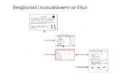 Rregjistrimi i transaksioneve ne Ditar