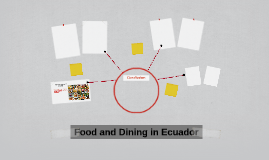 Food and Dining in Ecuador