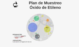 Plan de Muestreo Óxido de Etileno