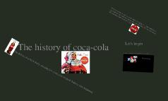 The history of coke a cola