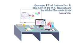 Semester I Final Project – Part II: The Role of the U.S. Recession in the Global Economic Crisis