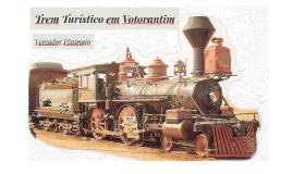 Trem Turístico em Votorantim