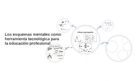 Los esquemas mentales como herramienta tecnológica para la educación profesional