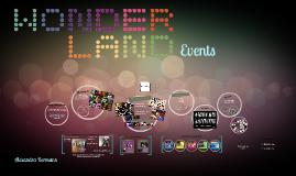 Wonderland Events