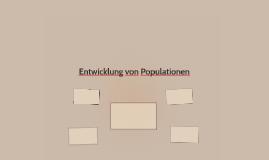 Entwicklung von Populationen