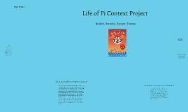 Copy of Life of Pi Context Project
