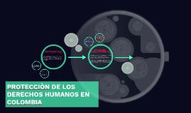 PROTECCIÒN DE LOS DERECHOS HUMANOS EN COLOMBIA