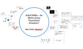 Copy of War Hitler Bipolar?