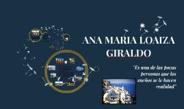 HV-ANA MARIA LOAIZA
