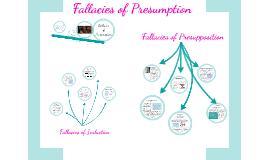 Fallacies of Presumption, Part 1
