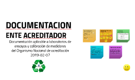 Documentacion del ente acreditador