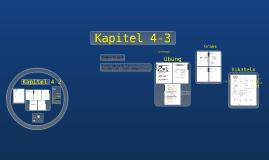 Kapitel 4-2 and 4-3