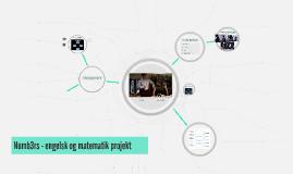 Numb3rs - engelsk og matematik projekt