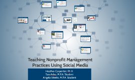 Teaching Nonprofit Management Practices Using Social Media