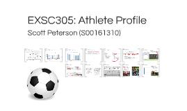 EXSC305: Athlete Profile