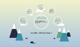 Les Mis - Week 8, Day 1