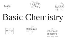 Copy of Copy of Copy of Basic Chemistry