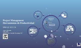 Project Management - Herramientas Productividad