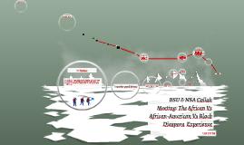 BSU & BASA Collab Meetintg: The African Vs African-American