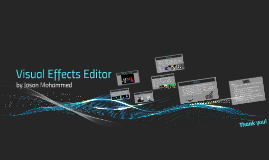 Visual Effects Editor