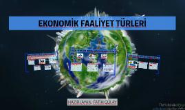 Ekonomik Faaliyet Türleri