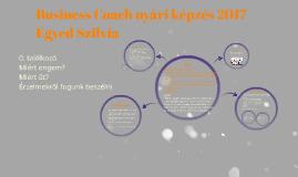 Business Coach vizsga