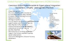 Global Human Capital Management Solution
