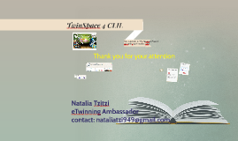 TwinSpace 4 CLIL