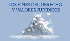 LOS FINES DEL DERECHO Y VALORES JURIDICOS
