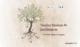 Copy of Noções Basicas de Jardinagem