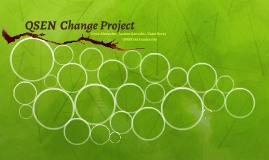 QSEN  Change Project